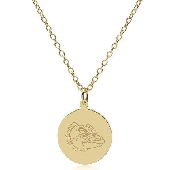 Gonzaga 18K Gold Pendant & Chain - Image 2