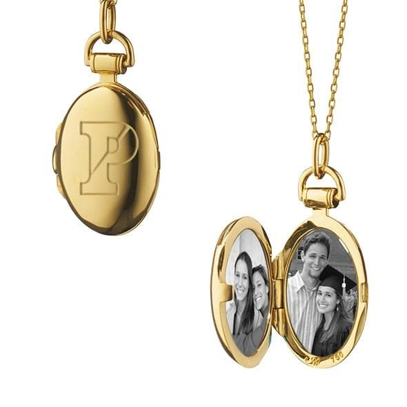 Penn Monica Rich Kosann Petite Locket in Gold - Image 2