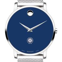 U.S. Naval Institute Men's Movado Museum with Blue Dial & Mesh Bracelet