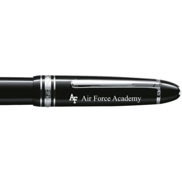 US Air Force Academy Montblanc Meisterstück LeGrand Rollerball Pen in Platinum - Image 2