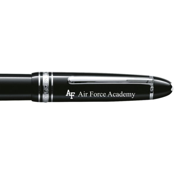 US Air Force Academy Montblanc Meisterstück LeGrand Rollerball Pen in Platinum - Image 2