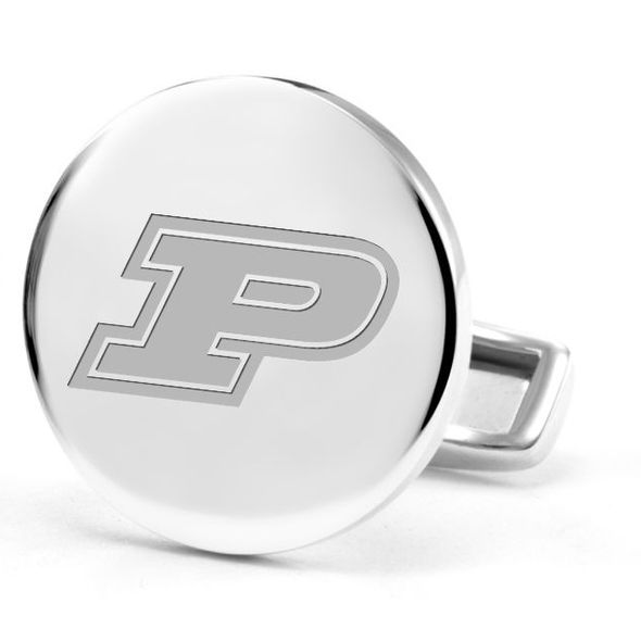 Purdue University Cufflinks in Sterling Silver - Image 2