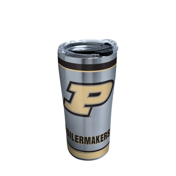 Purdue 20 oz. Stainless Steel Tervis Tumblers with Hammer Lids - Set of 2