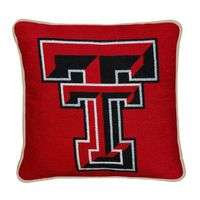 Texas Tech Handstitched Pillow