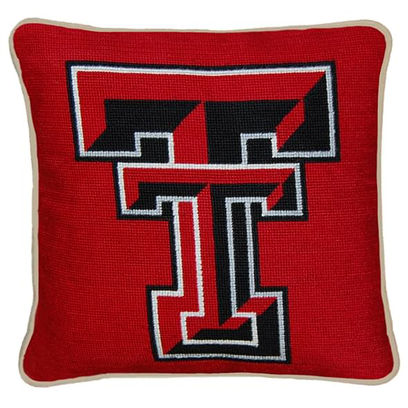 Texas Tech Handstitched Pillow - Image 2