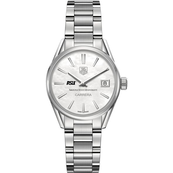 Arizona State Women's TAG Heuer Steel Carrera with MOP Dial - Image 2