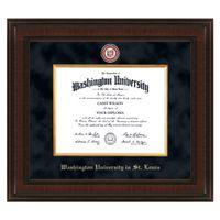 WUSTL Excelsior Diploma Frame