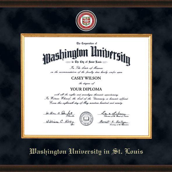 WashU Diploma Frame - Excelsior - Image 2