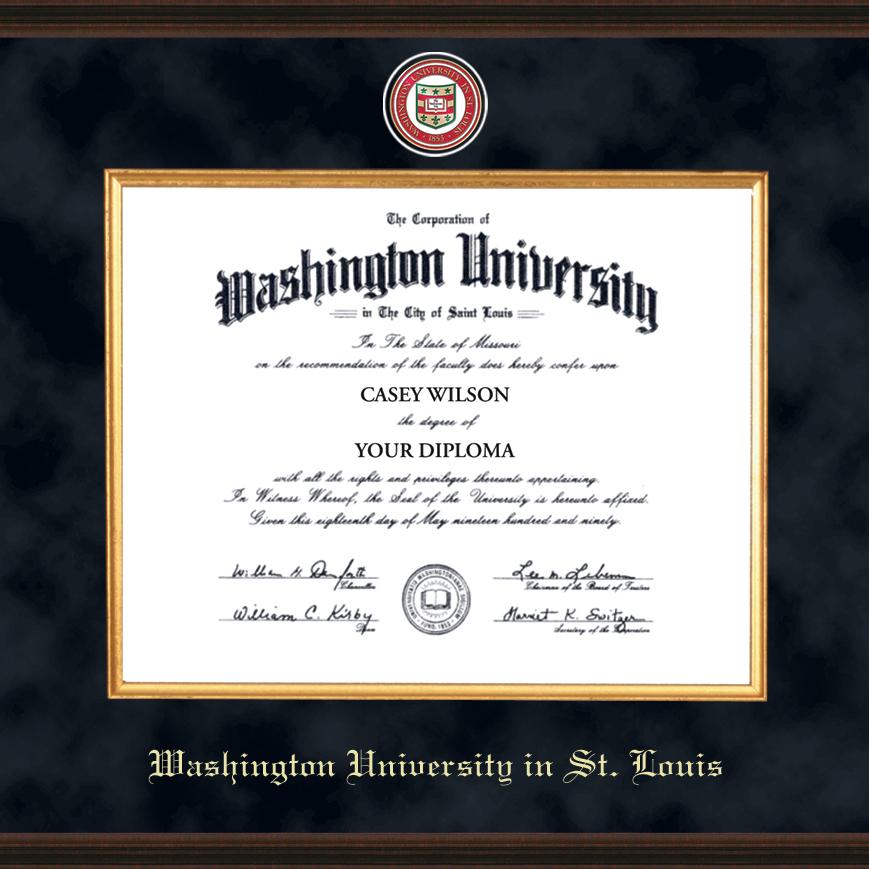 WUSTL Excelsior Diploma Frame - Image 2