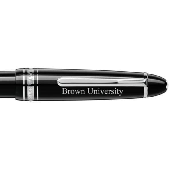 Brown University Montblanc Meisterstück LeGrand Ballpoint Pen in Platinum - Image 2