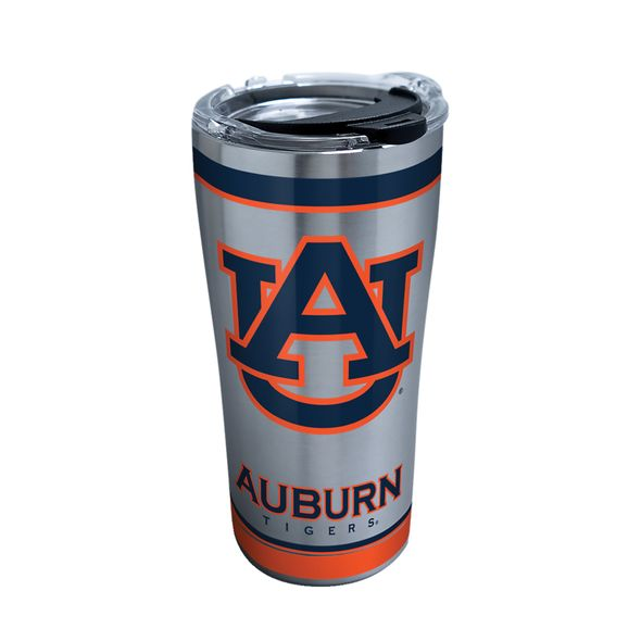Auburn 20 oz. Stainless Steel Tervis Tumblers with Hammer Lids - Set of 2