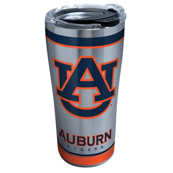 Auburn 20 oz. Stainless Steel Tervis Tumblers with Hammer Lids - Set of 2 - Image 2