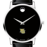 Marquette Men's Movado Museum with Leather Strap