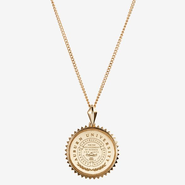 14K Gold Sunburst Necklace by Kyle Cavan - Image 2