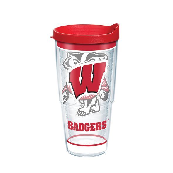 Wisconsin 24 oz. Tervis Tumblers - Set of 2