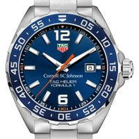 SC Johnson College Men's TAG Heuer Formula 1 with Blue Dial & Bezel