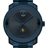University of Colorado Men's Movado BOLD Blue Ion with Bracelet