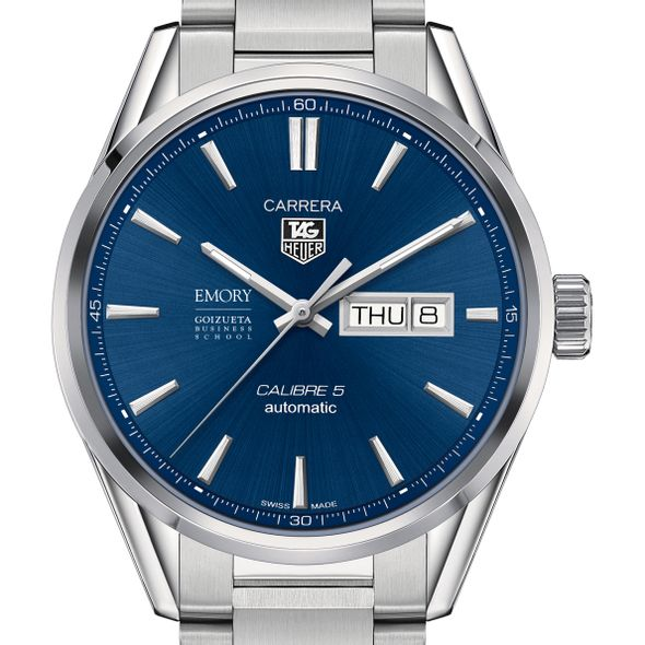 Emory Goizueta Men's TAG Heuer Carrera with Day-Date - Image 1