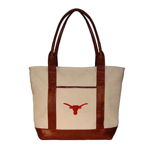 Texas Needlepoint Tote