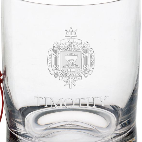 US Naval Academy Tumbler Glasses - Set of 2 - Image 3
