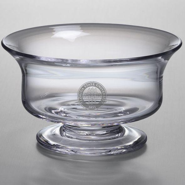 FSU Simon Pearce Glass Revere Bowl Med - Image 1