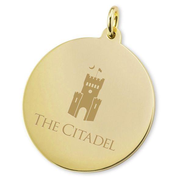 Citadel 18K Gold Charm - Image 2