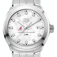 University of Alabama TAG Heuer Diamond Dial LINK for Women