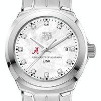 University of Alabama TAG Heuer Diamond Dial LINK for Women