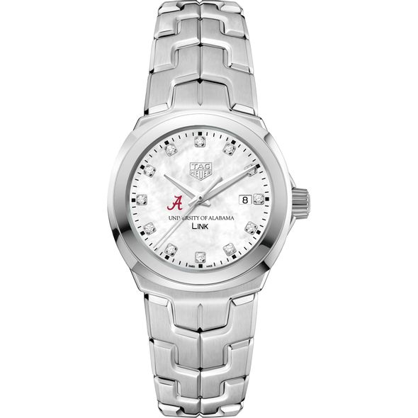 University of Alabama TAG Heuer Diamond Dial LINK for Women - Image 2