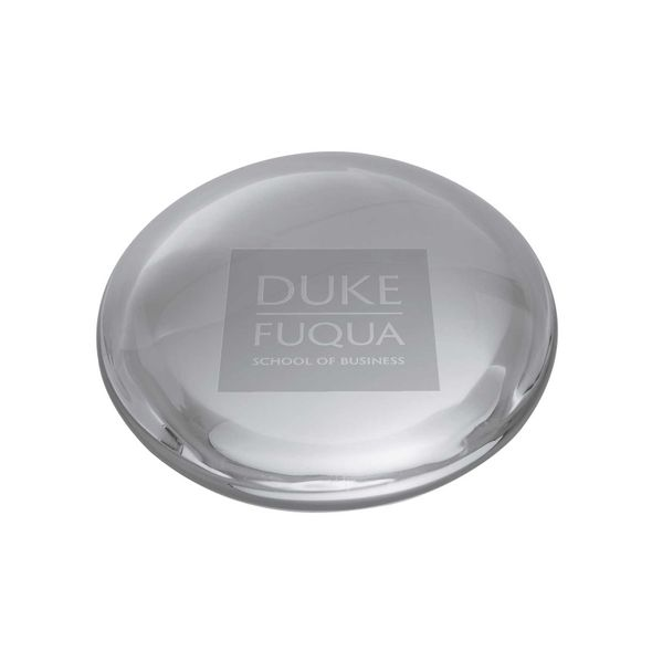 Duke Fuqua Glass Dome Paperweight by Simon Pearce - Image 1