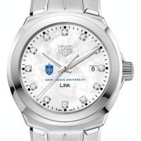 Saint Louis University TAG Heuer Diamond Dial LINK for Women
