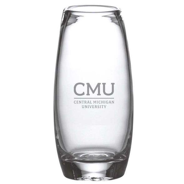 Central Michigan Glass Addison Vase by Simon Pearce