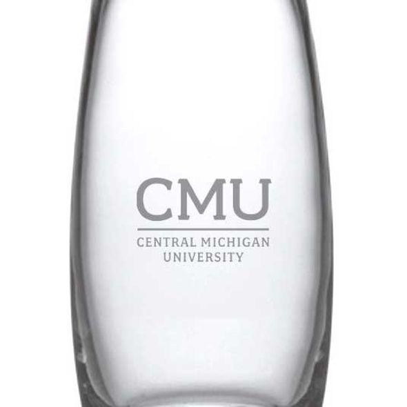 Central Michigan Glass Addison Vase by Simon Pearce - Image 2