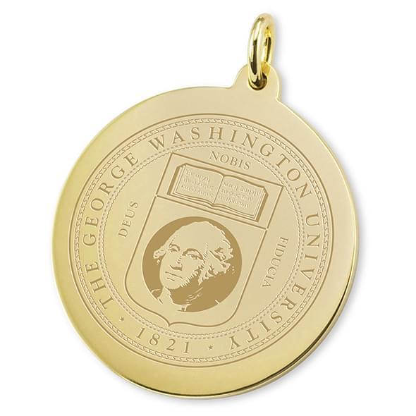 George Washington 18K Gold Charm - Image 2