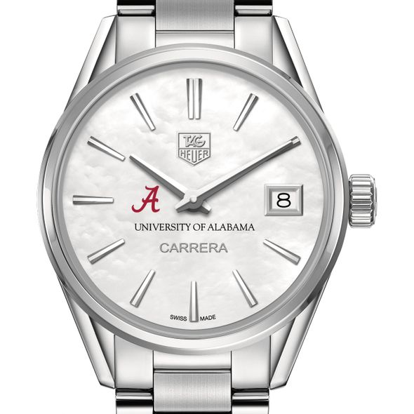 University of Alabama Women's TAG Heuer Steel Carrera with MOP Dial - Image 1
