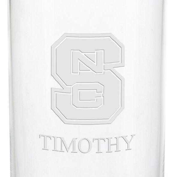 North Carolina State Iced Beverage Glasses - Set of 2 - Image 3