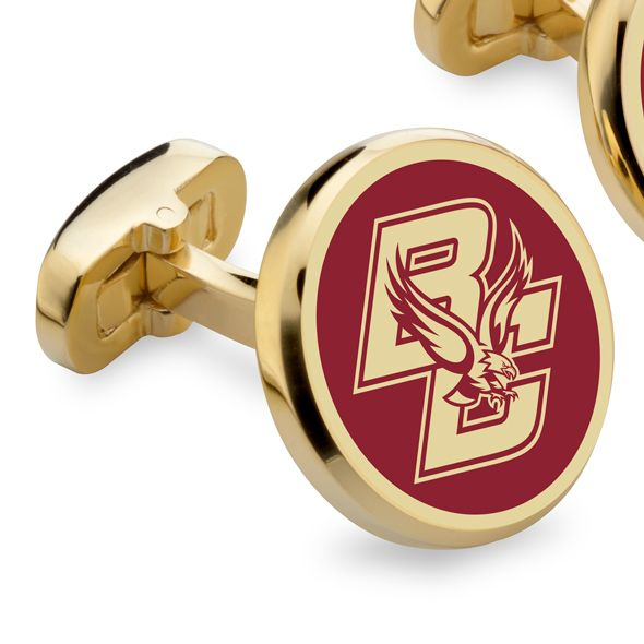 Boston College Enamel Cufflinks - Image 2