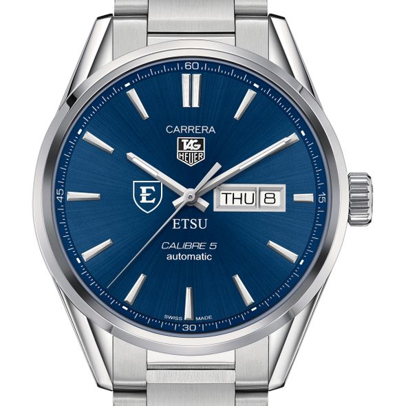 East Tennessee State University Men's TAG Heuer Carrera with Day-Date