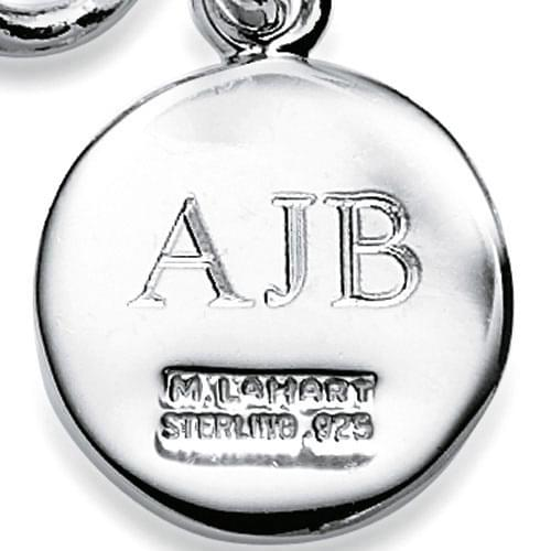 Mississippi State Necklace with Charm in Sterling Silver - Image 3