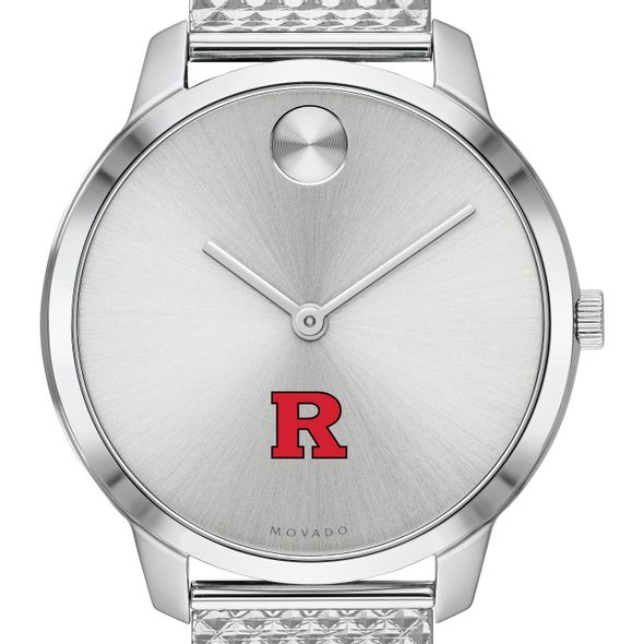 Rutgers University Women's Movado Stainless Bold 35