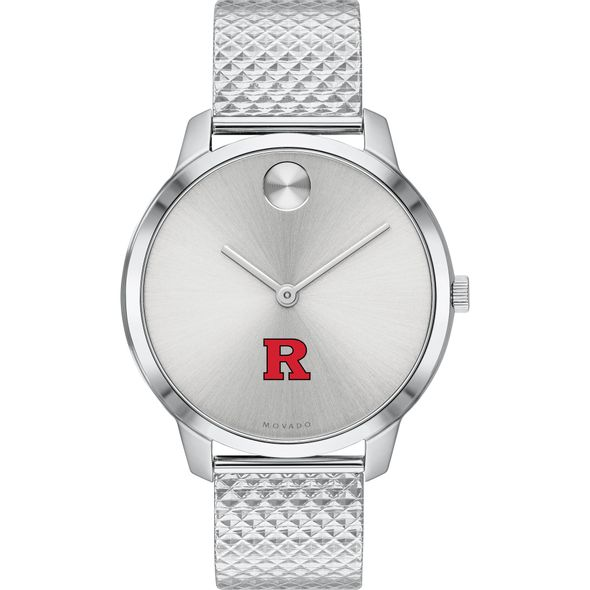 Rutgers University Women's Movado Stainless Bold 35 - Image 2