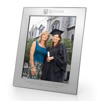Rutgers University Polished Pewter 8x10 Picture Frame