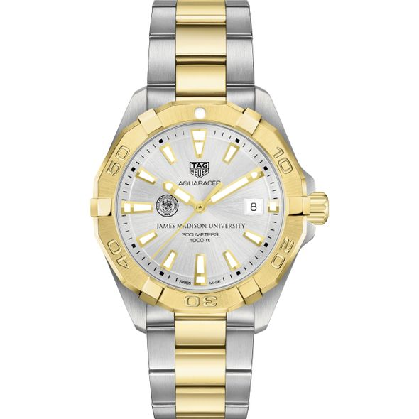 James Madison University Men's TAG Heuer Two-Tone Aquaracer - Image 2