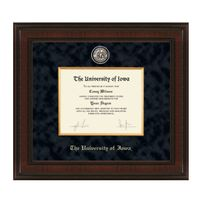 University of Iowa Diploma Frame - Excelsior