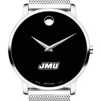 James Madison University Men's Movado Museum with Mesh Bracelet