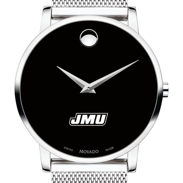 James Madison University Men's Movado Museum with Mesh Bracelet