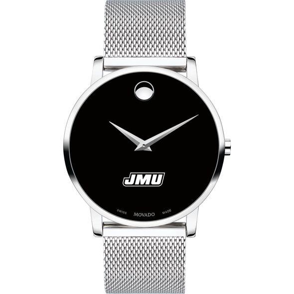 James Madison University Men's Movado Museum with Mesh Bracelet - Image 2