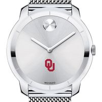University of Oklahoma Men's Movado Stainless Bold 44