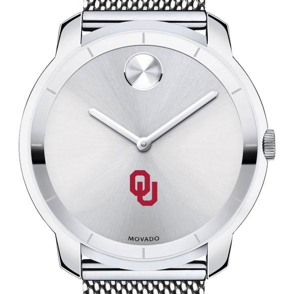 University of Oklahoma Men's Movado Stainless Bold 44