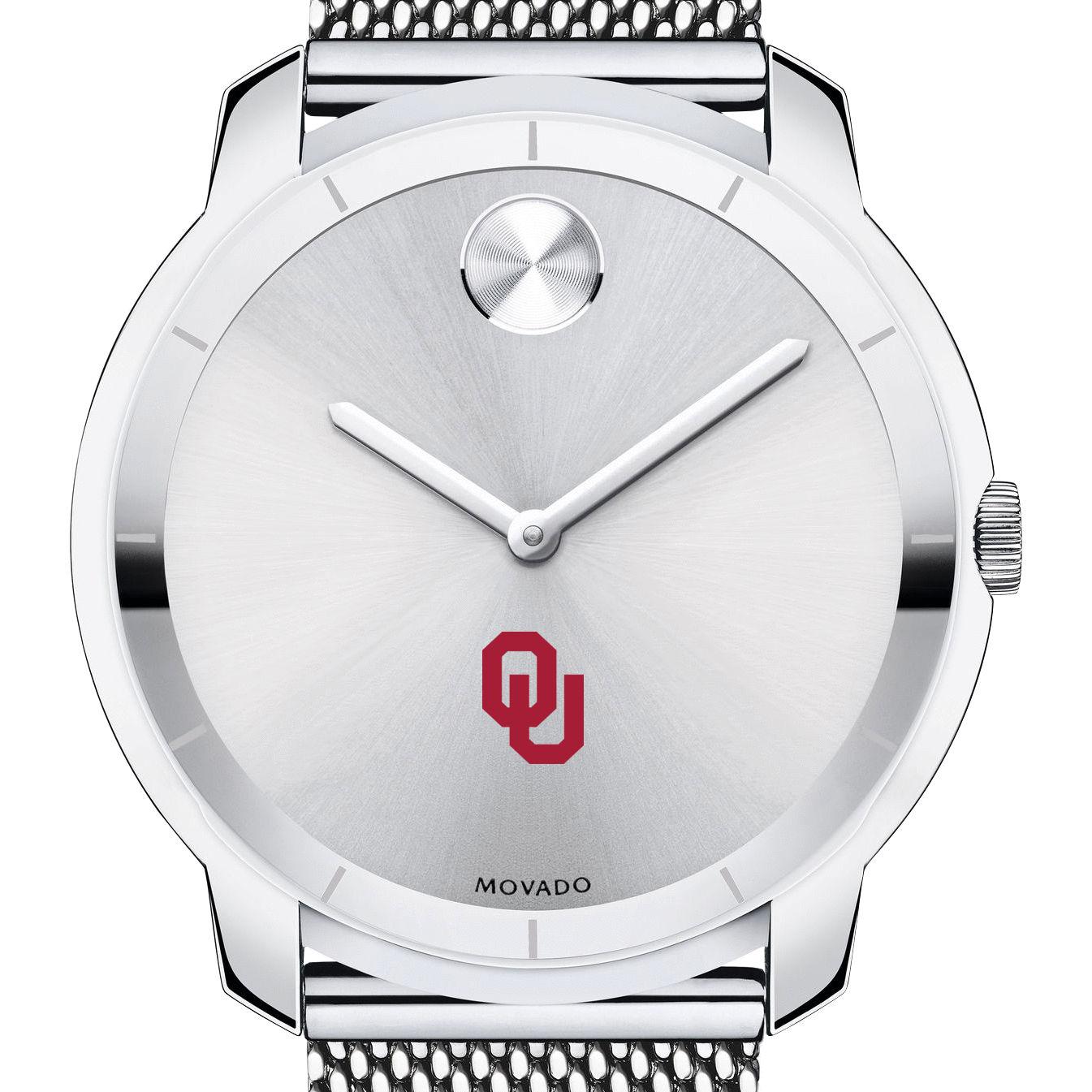 Oklahoma Men's Movado Stainless Bold 44